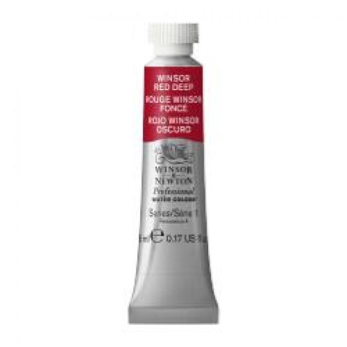 W&N Aquarelverf tube 5ml Winsor Rood Donker