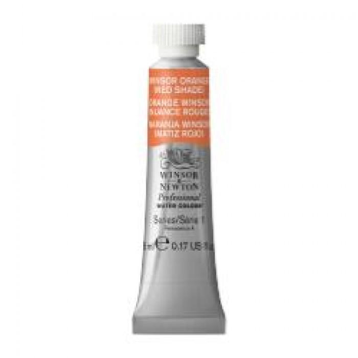 W&N Aquarelverf tube 5ml Winsor Oranjerood