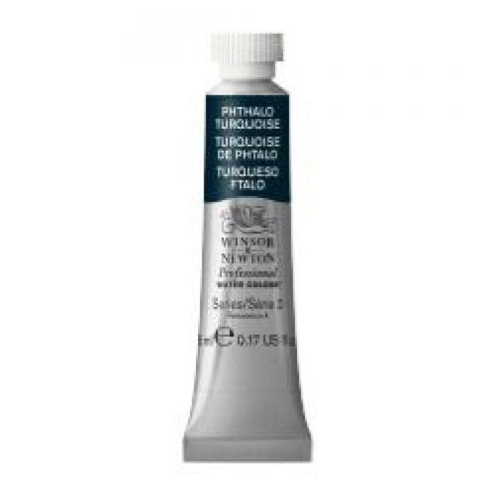 W&N Aquarelverf tube 5ml Turkoois Phtalo
