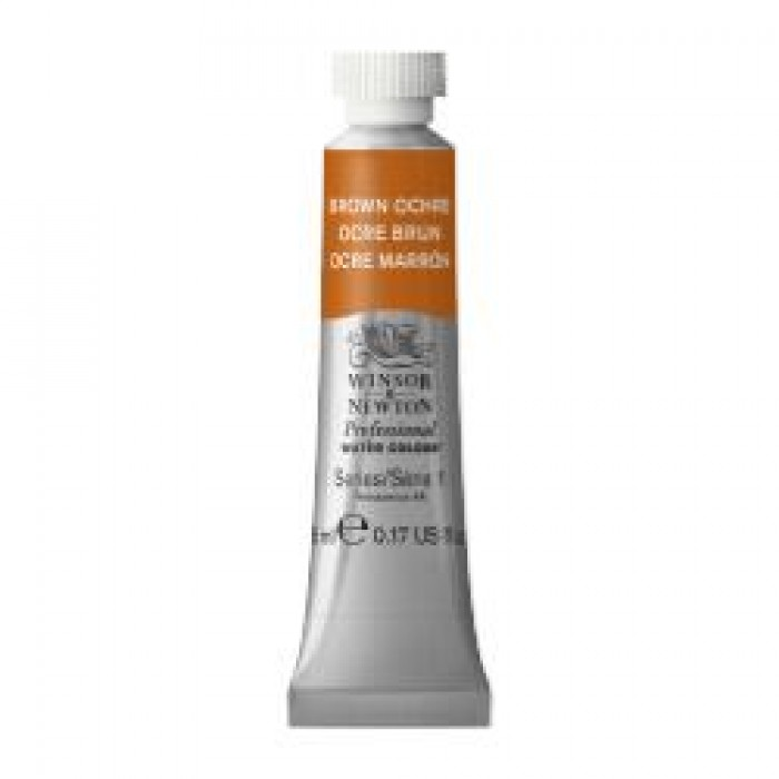 W&N Aquarelverf tube 5ml Bruine Oker