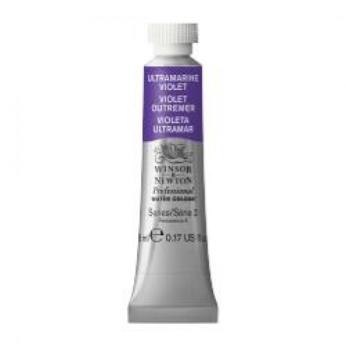 W&N Aquarelverf tube 5ml Ultramarijn Violet