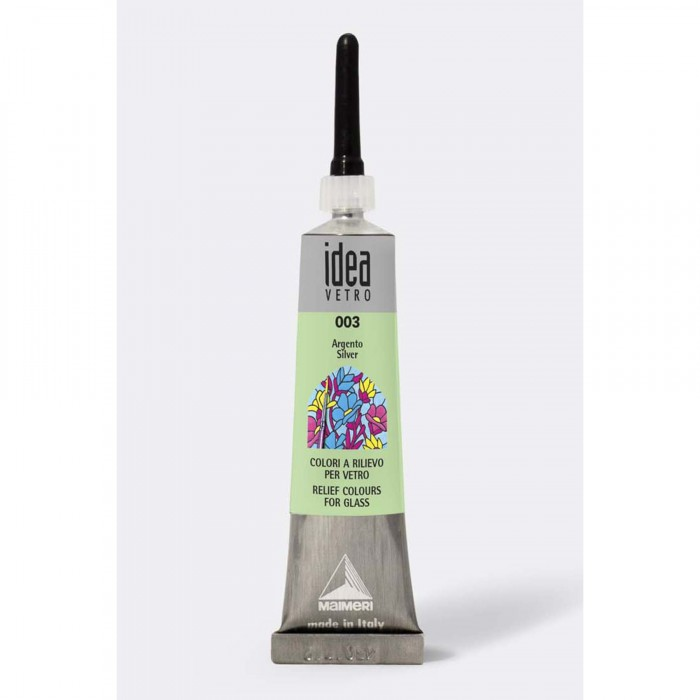 IDEA Tube 20ml Relief voor Glas Zilver