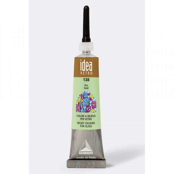 IDEA Tube 20ml Relief voor Glas Goud