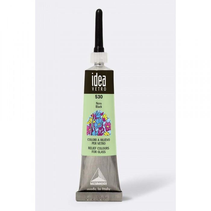 IDEA Tube 20ml Relief voor Glas Zwart