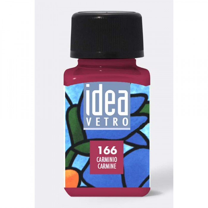 MAIMERI Idea 60ml glasverf Karmijn