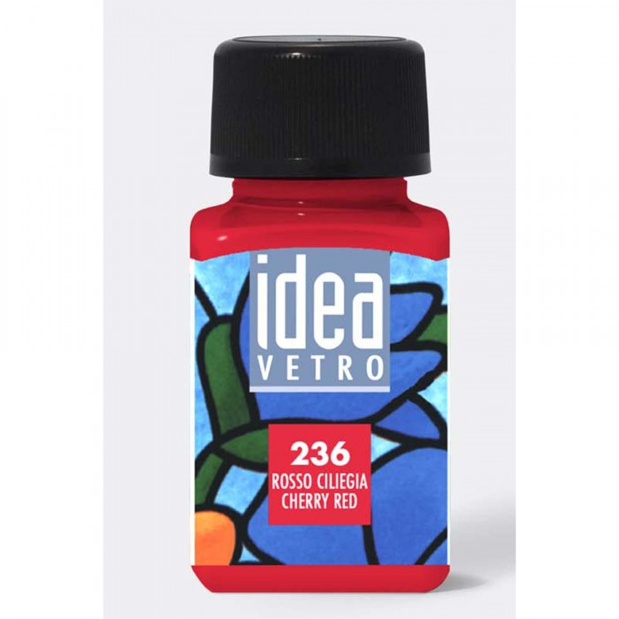 MAIMERI Idea 60ml Glasverf Rood Kers