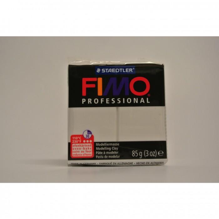 FIMO  Boetseerklei Professional 85gr Wit