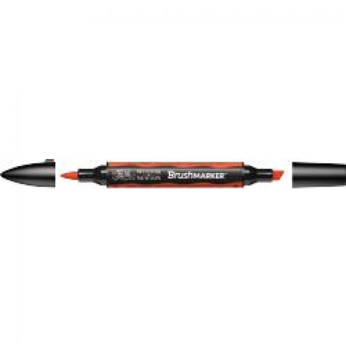 W&N Brush Marker Hel Oranje (O177)