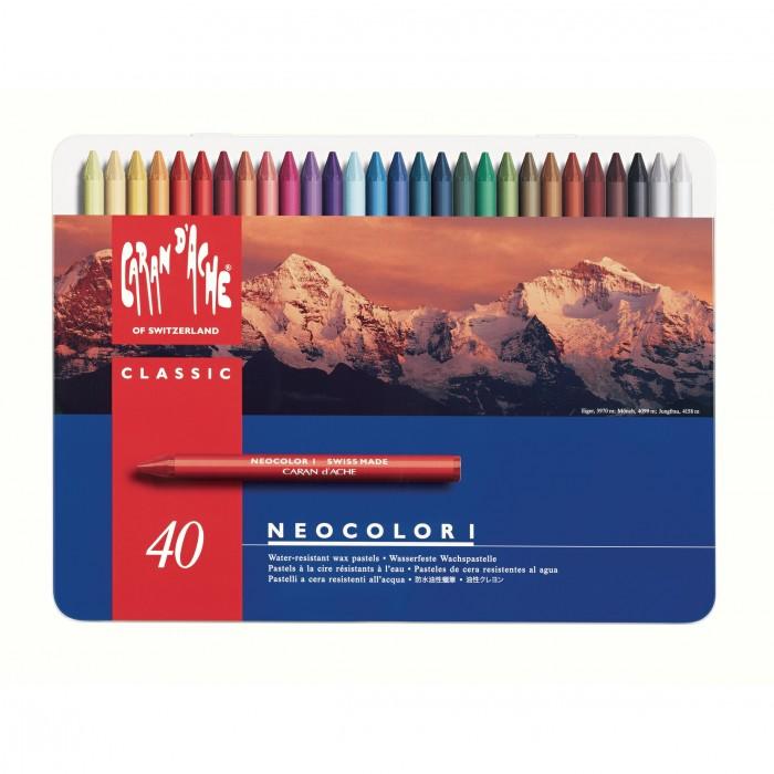 CARAN D'ACHE Neocolor I 40st