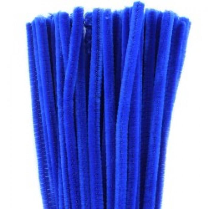 Pijpreinigers 6mm 30cm 50st Blauw
