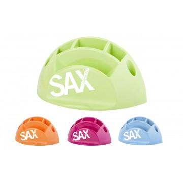 SAX Pen- en Memohouder Blauw