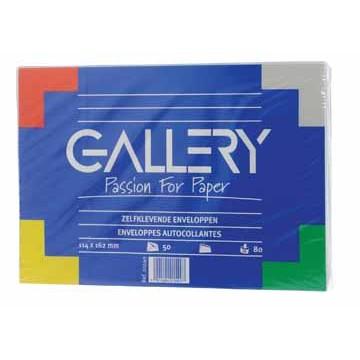 GALLERY Pochet 50 Omslagen 70gr Wit