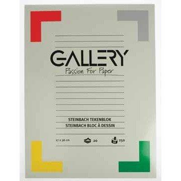 GALLERY Blok STEINBACH 27x36cm 20 vel
