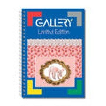 GALLERY Spiraalblok 90gr A4 Geruit