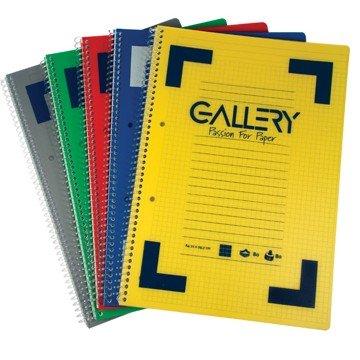 GALLERY Spiraalschrift Gelijnd 160 Pagina's  A4