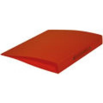 Ringmap 2 ringen 16mm PP Transparant Oranje