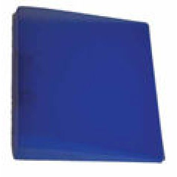 Ringmap 2 ringen 16mm PP Transparant Blauw