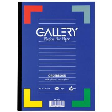 GALLERY Orderboek Zelfkopierend 2x50vel