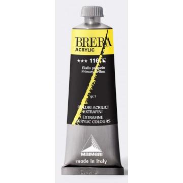 BRERA Acrylverf 60ml Serie 1 Primair Geel