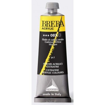 BRERA Acrylverf 60ml Serie 2 Cadmium Geel Midden