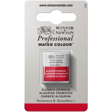 W&N Artist Aquarel 1/2 pan Alizaron Crimson
