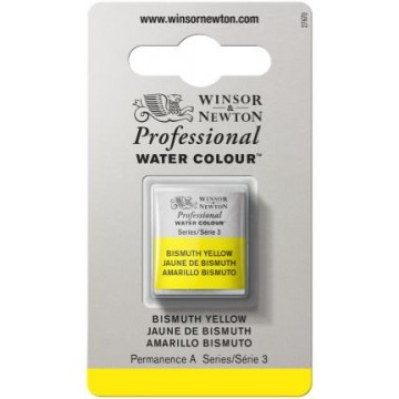 W&N Artist Aquarel 1/2pan BISMUTH YELLOW