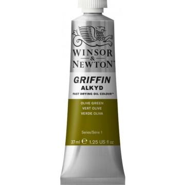 W&N GRIFFIN Alkydverf 37ml  Olijfgroen