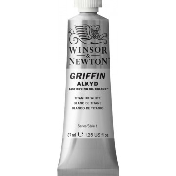 W&N GRIFFIN Alkydverf 37ml  Titaan Wit