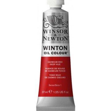 W&N WINTON Olieverf 37ml Cadmium Rood Donker