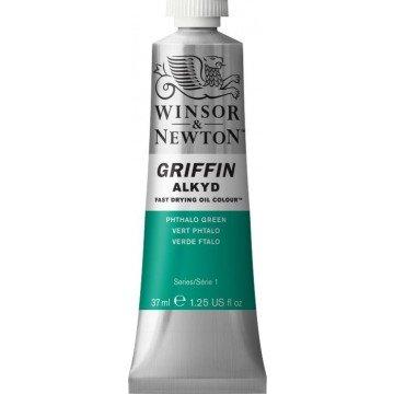 W&N GRIFFIN Alkydverf 37ml  Groen Phtalo