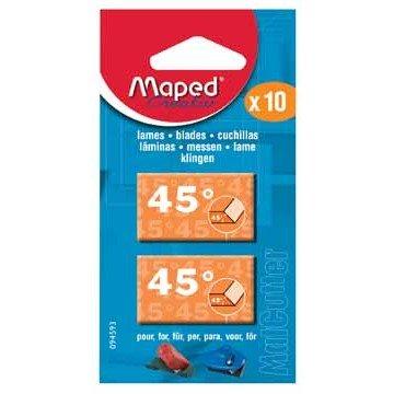 MAPED Kaart met 10 Mesjes CS 45°