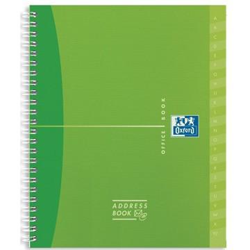 OXFORD Adresboek MyColour 160vel 12x14,8cm