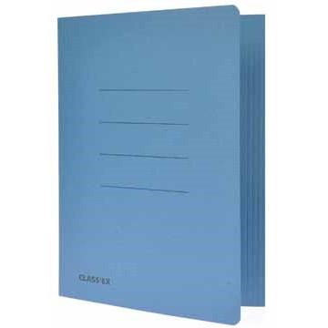 CLASSEX Dossiermap 18x22,5cm Blauw