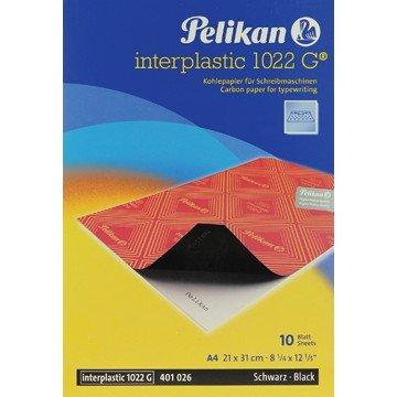 PELIKAN Pochette 10vel Karbonpapier Zwart
