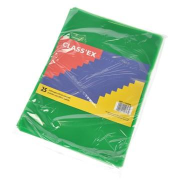 CLASSEX 25 L-mapjes A4 Groen