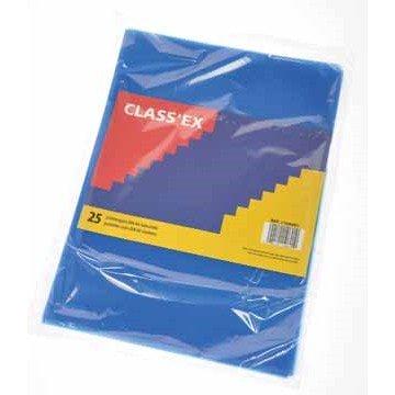 CLASSEX 25 L-mapjes A4 Blauw