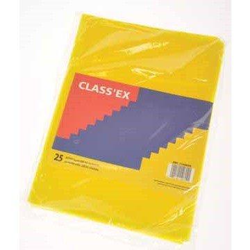 CLASSEX 25 L-mapjes A4 Geel