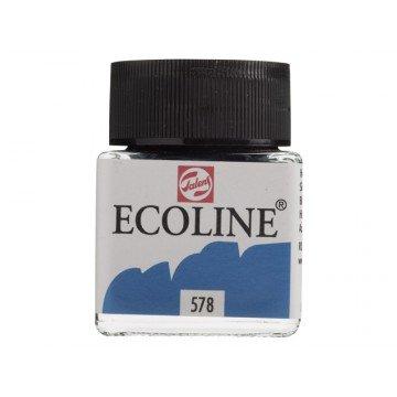 TALENS Ecoline Flacon 30ml  Hemelsblauw Cyaan