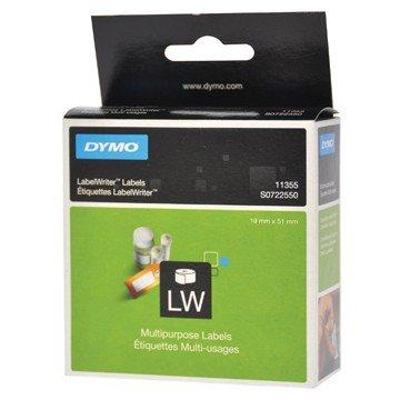 DYMO Etikettenrol EL40/60 Wit 51x19mm