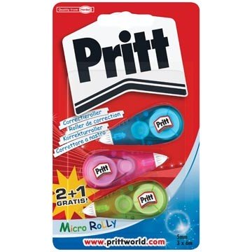 PRITT 3 Correctierollers Micro 6m