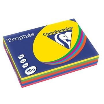 CLAIRFONTAINE Trophee 500vel Kopiepapier A4 Assort