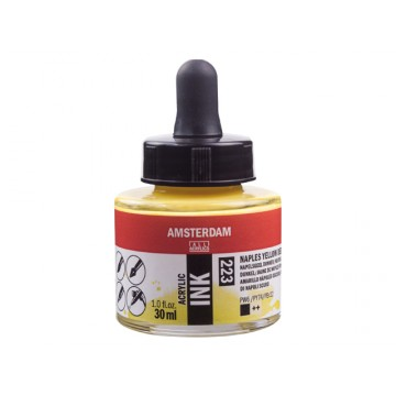 AMSTERDAM Acrylic Inkt 30ml Napels Geel Donker