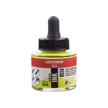 AMSTERDAM Acrylic Inkt 30ml Citroen Geel AZO