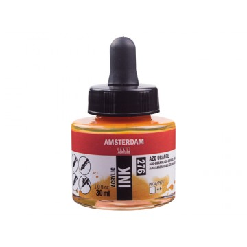 AMSTERDAM Acrylic Inkt 30ml Oranje AZO