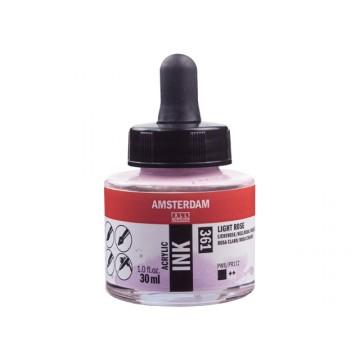 AMSTERDAM Acrylic Inkt 30ml Roze Licht