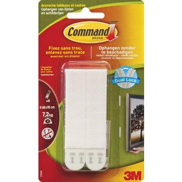 3M Command 8 Vastklikstrips Lichte Lijsten