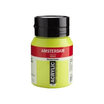 AMSTERDAM Acrylverf 500ml  Groengeel