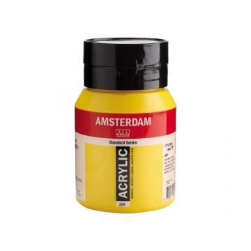 AMSTERDAM Acrylverf 500ml  Azo Geel Middel