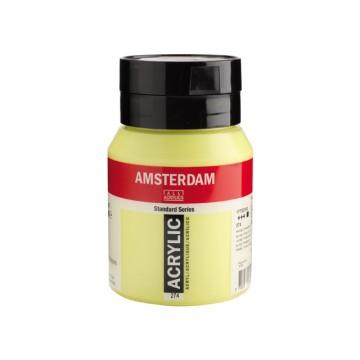 AMSTERDAM Acrylverf 500ml  Nikkeltitaangeel