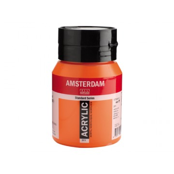 AMSTERDAM Acrylverf 500ml  Vermiljoen